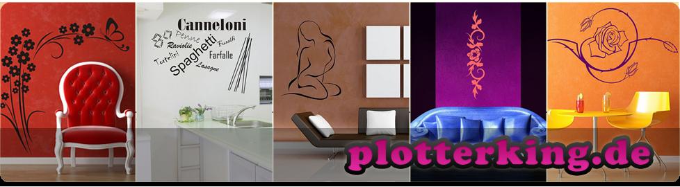 plotterking.de | Wandtattoos, Wandsticker, Autoaufkleber